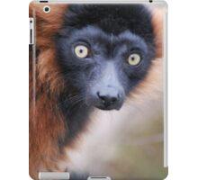 Red Ruffed Lemur iPad Case/Skin