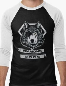 THE DIAMOND DOGS Men's Baseball ¾ T-Shirt
