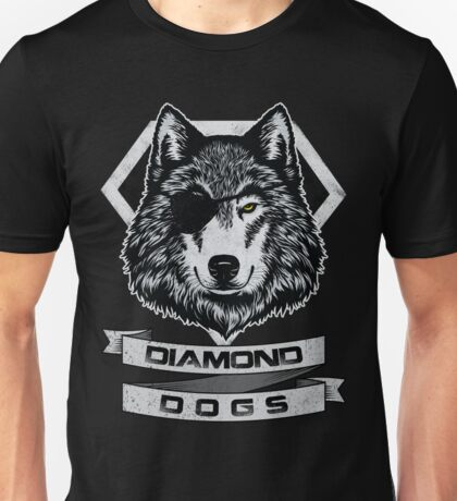 THE DIAMOND DOGS Unisex T-Shirt