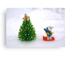 The Christmas tree  Canvas Print