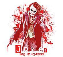 Joker - Heath Ledger by JoseFuentes