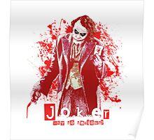 Joker - Heath Ledger Poster
