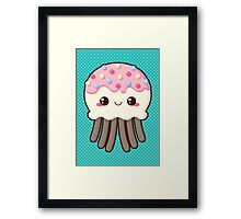 Candy Covered Jellyfish Framed Print