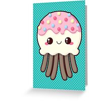 Candy Covered Jellyfish Greeting Card