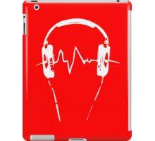 Headphones Frequency Girls funny nerd geek geeky iPad Case/Skin