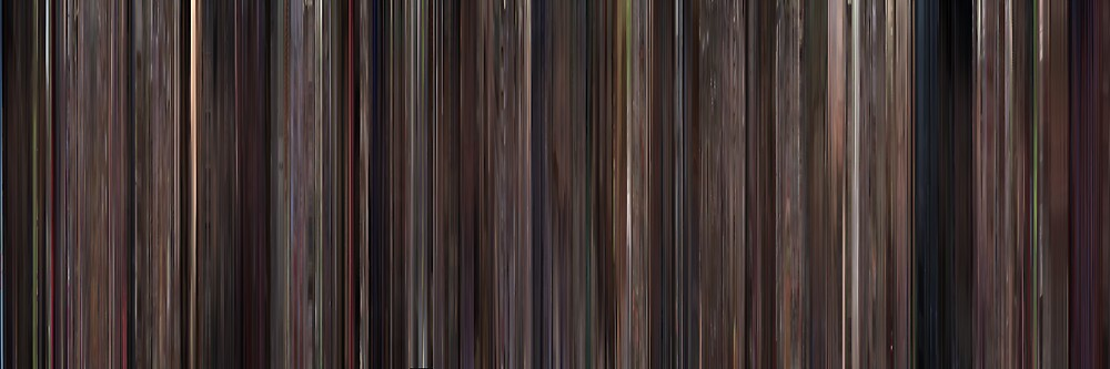 Moviebarcode: High Fidelity (2000) by moviebarcode