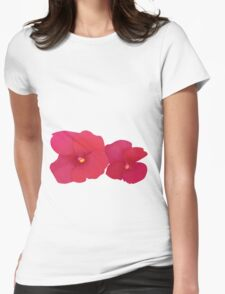 Flowers, flowers... Womens Fitted T-Shirt