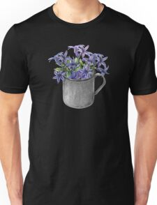 Hyacinth flowers in a mug Unisex T-Shirt