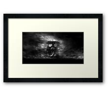 'I don't want to go' Framed Print