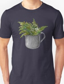 Mug with fern leaves T-Shirt