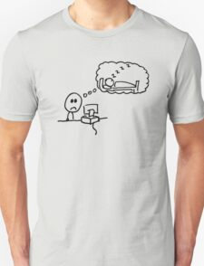 """""""I wish I was asleep"""" T-Shirt"""