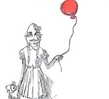 Red Balloon by Zombie-Couture