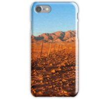 Outback Fence       (OP) iPhone Case/Skin