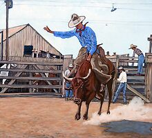 Ride 'em Cowboy by Tom Roderick