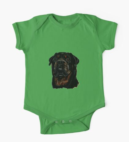 Male Rottweiler One Piece - Short Sleeve