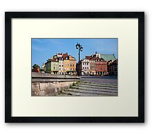 Old Town in Warsaw Framed Print