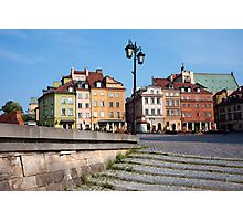 Old Town in Warsaw Photographic Print