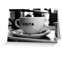 Costa  Greeting Card