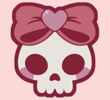 Skull Bow One Piece - Short Sleeve