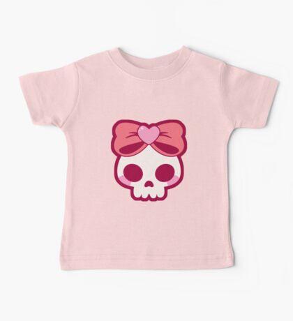 Skull Bow Baby Tee