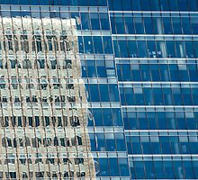 Abstract Reflections on Skyscraper Windows by Artur Bogacki