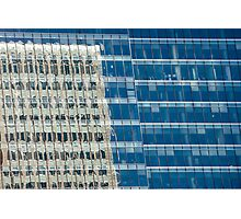 Abstract Reflections on Skyscraper Windows Photographic Print