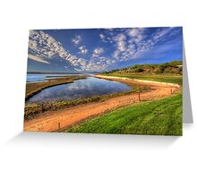 15th Fairway Greeting Card