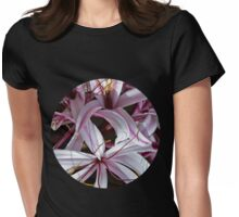 Lilies Womens Fitted T-Shirt