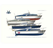 Fairey Huntsman 28s Art Print