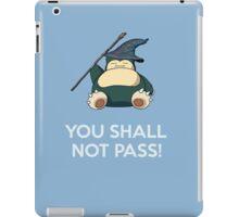 Gandalf Snorlax mashup iPad Case/Skin