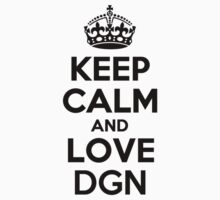 Keep Calm and Love DGN by nadenevm
