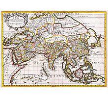 1687 Sanson Rossi Map of Asia Geographicus Asia rossi 1697 Photographic Print