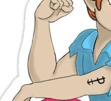 Peter Pan-Sexual Pride Sticker