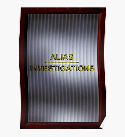 Alias Investigations - Jessica Jones Poster