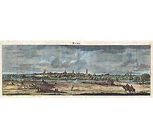 1698 de Bruijin View of Rama Israel (Palestine Holy Land) Geographicus Rama bruijn 1698 Photographic Print