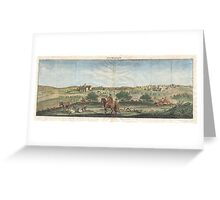 1698 de Bruijin View of Bethlehem Palestine (Israel Holy Land) Geographicus Bethlehem bruijn 1698 Greeting Card