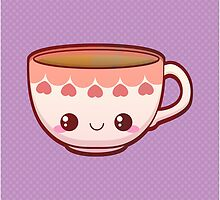 Kawaii Teacup by pai-thagoras