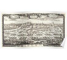 1697 Pufendorf View of Krakow (Cracow) Poland Geographicus Krakow pufendorf 1655 Poster