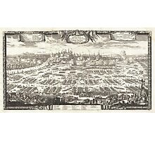 1697 Pufendorf View of Krakow (Cracow) Poland Geographicus Krakow pufendorf 1655 Photographic Print