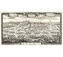 1697 Pufendorf View of Krakow (Cracow) Poland Geographicus Krakow pufendorf 1655 Photographic Print
