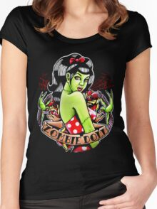 Zombie Doll Tee Women's Fitted Scoop T-Shirt