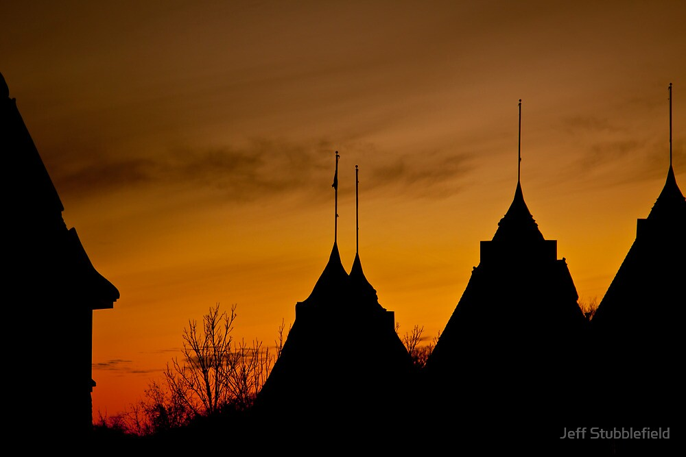 Sunset at the Bandshell by Jeff Stubblefield