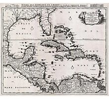 1696 Danckerts Map of Florida the WestIndies and the Caribbean Geographicus WestIndies dankerts 1696 Photographic Print