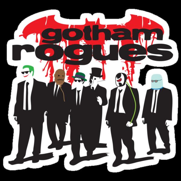 Gotham's Reservoir Rogues by FireProFitz