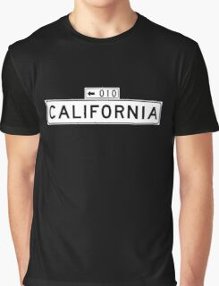 California St., San Francisco Street Sign, USA Graphic T-Shirt