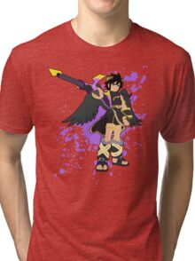 Dark Pit - Super Smash Bros Tri-blend T-Shirt