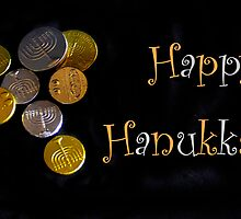 Happy Hanukkah with Chocolate Gelt! by Heather Friedman