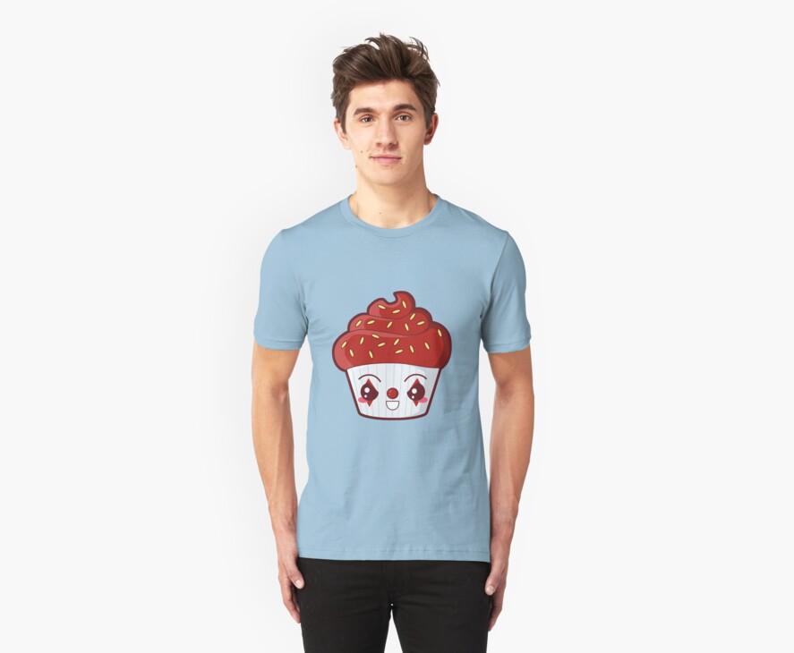 Spooky Cupcake - Killer Clown by pai-thagoras
