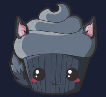 Spooky Cupcake - Werewolf Kids Tee