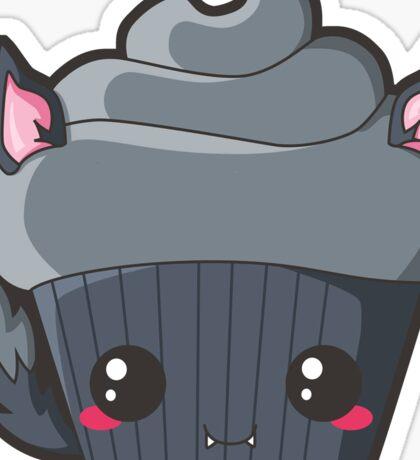Spooky Cupcake - Werewolf Sticker